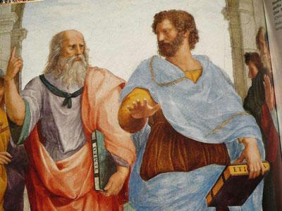 افلاطون و ارسطو