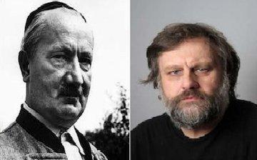 اسلاوی ژیژک و مارتین هایدگر